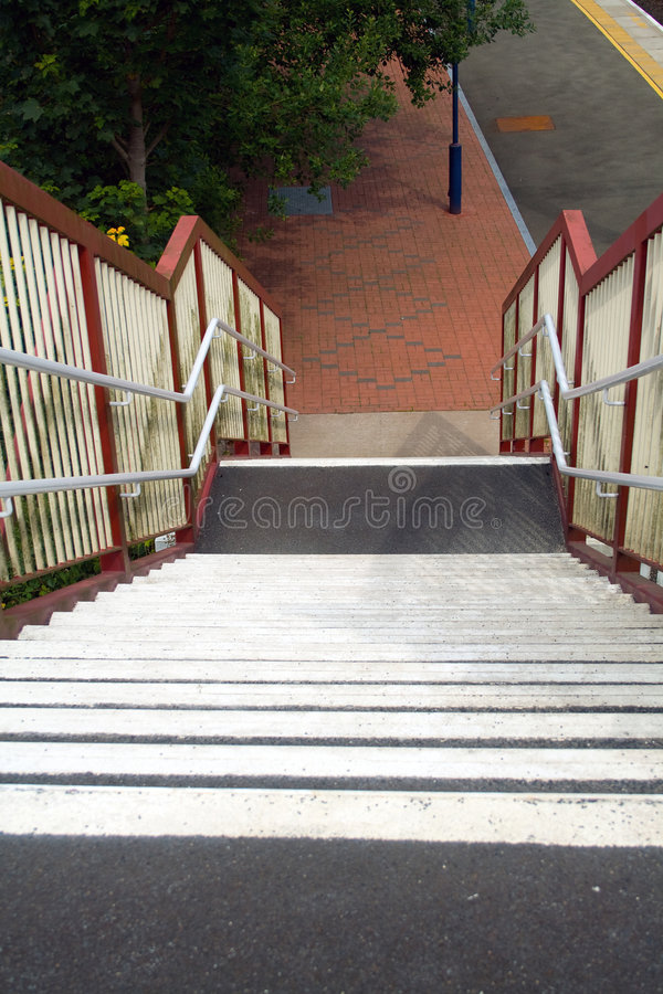 Free Railway Station Staircase Stock Images - 8870774