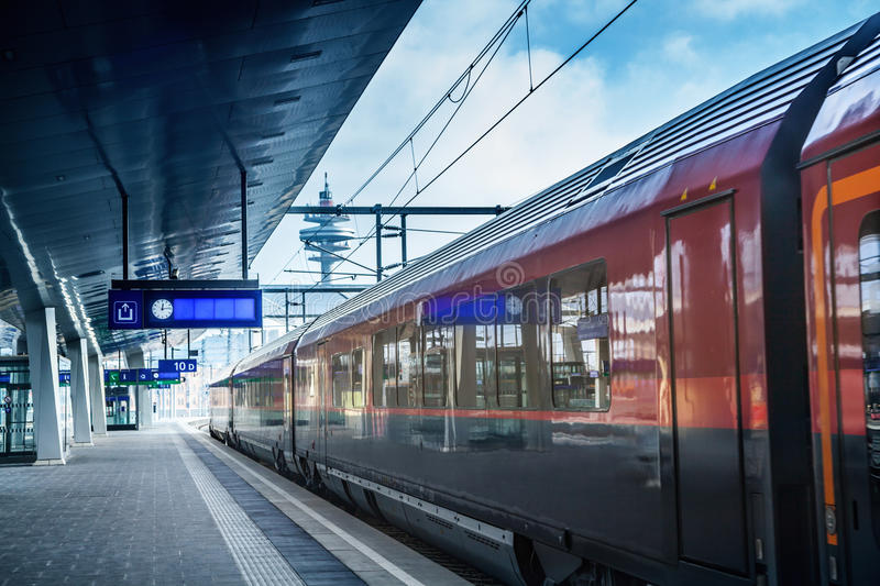 Download Railway station stock photo. Image of europe, depot, electrical - 83715676