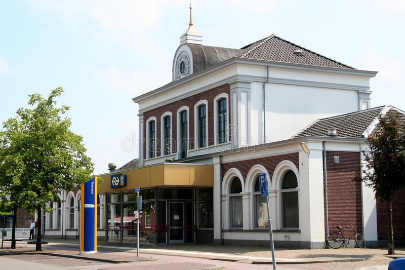Railway station of Winschoten royalty free stock images