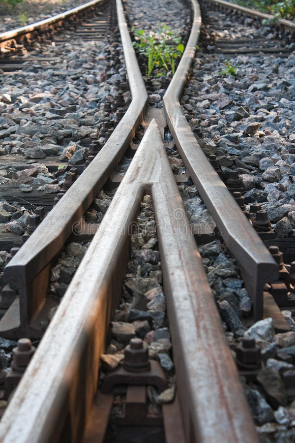 Download Railway Switch Royalty Free Stock Photo - Image: 22100265
