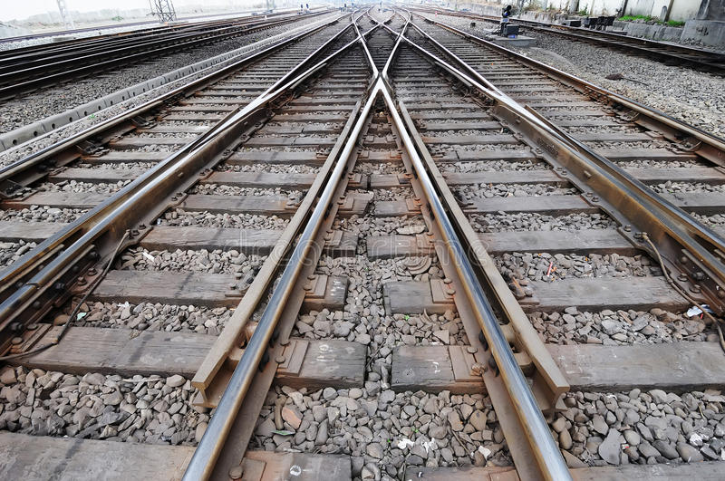 Download Railway track stock photo. Image of railroad, chinese - 13040804