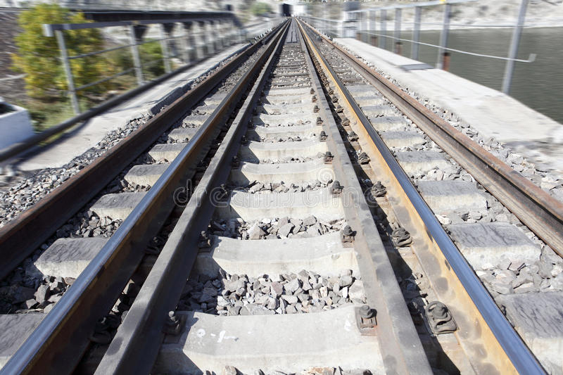 Railway Track Stock Images