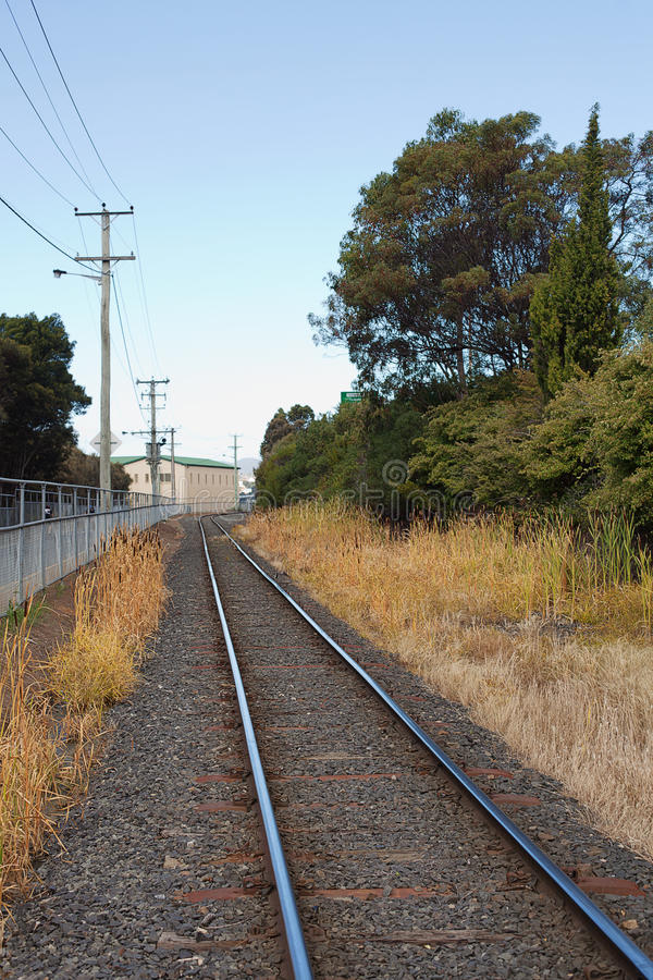 Download Railway Track stock photo. Image of railway, tasmania - 25488162