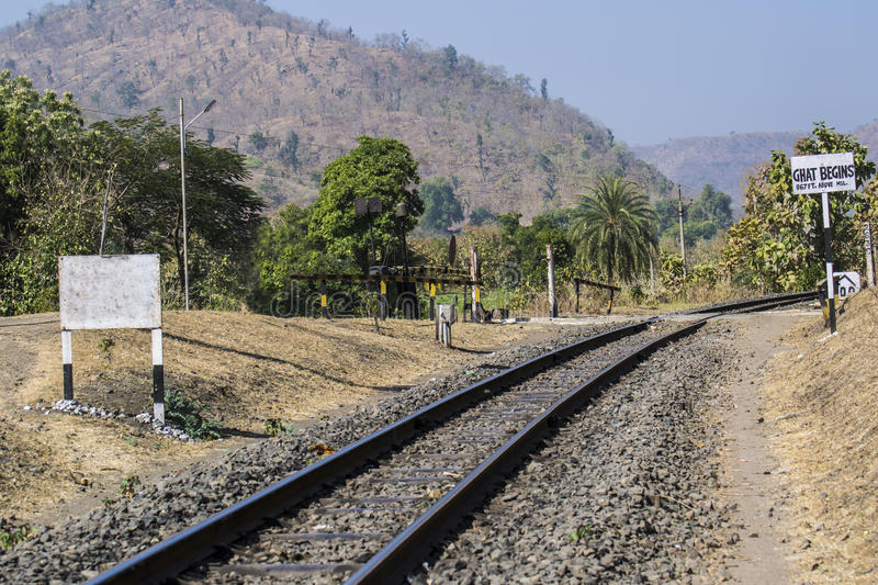 Download Railway Track Hill Side Railways Stock Photo - Image of meter, track: 83702828