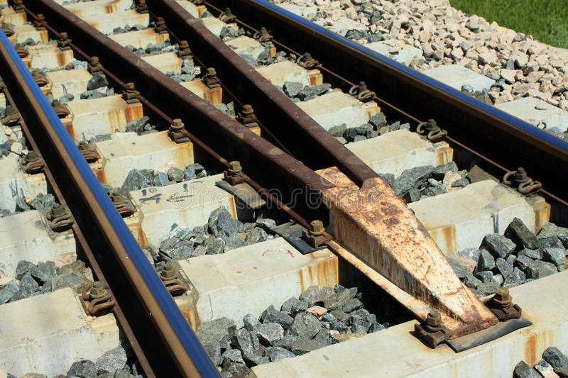 Download Railway tracks stock photo. Image of industry, cement - 24573792