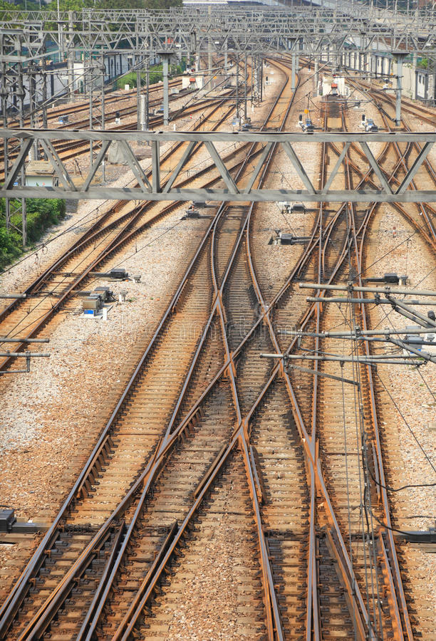 Download Railway tracks stock photo. Image of transit, track, photography - 26853592