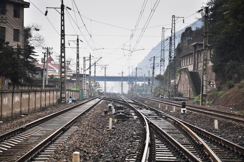 Free Railroad Tracks Stock Photo - FreeImages.com