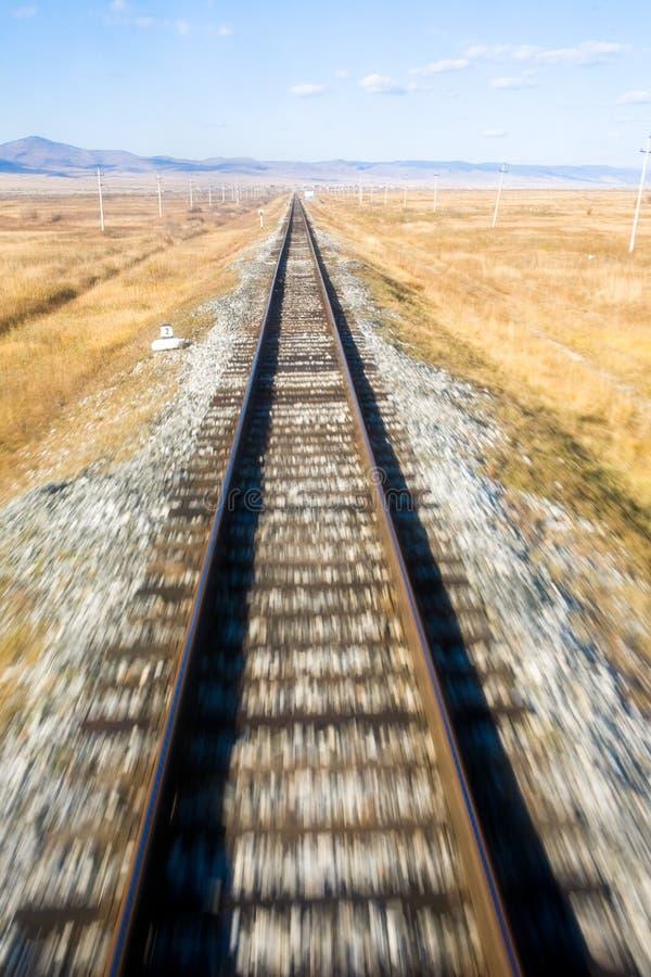 railway transsiberian стоковое изображение