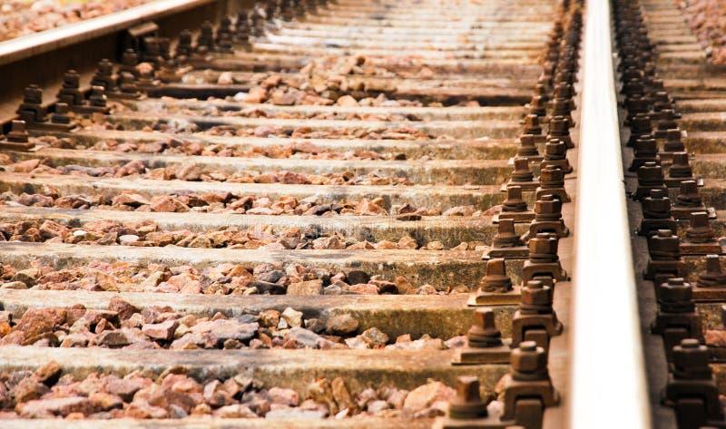 Railway, Trento Italy stock image