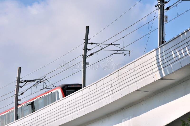 Download Railway Viaduct Bridge And Train Stock Photo - Image: 25710692