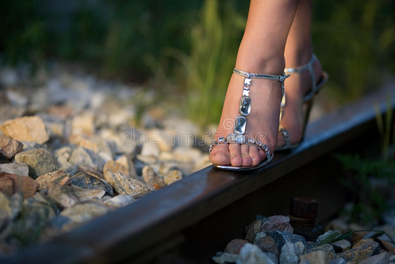 Download Railway walk stock photo. Image of walking, foot, posh - 9769002