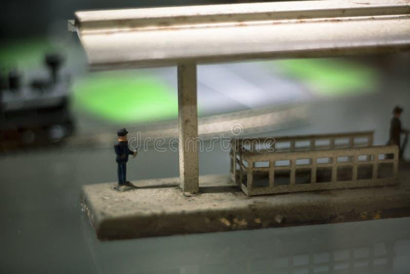 railwayman arkivbilder