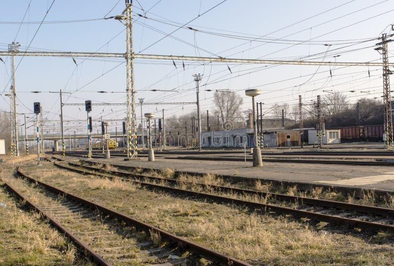railways стоковая фотография