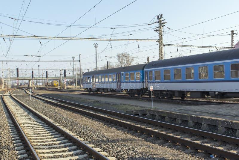 railways стоковое изображение rf