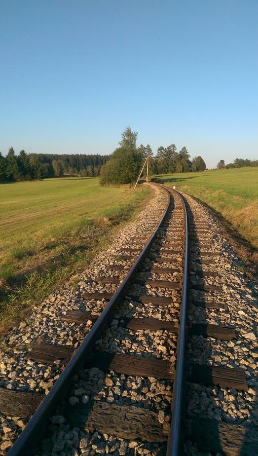 railways imagem de stock