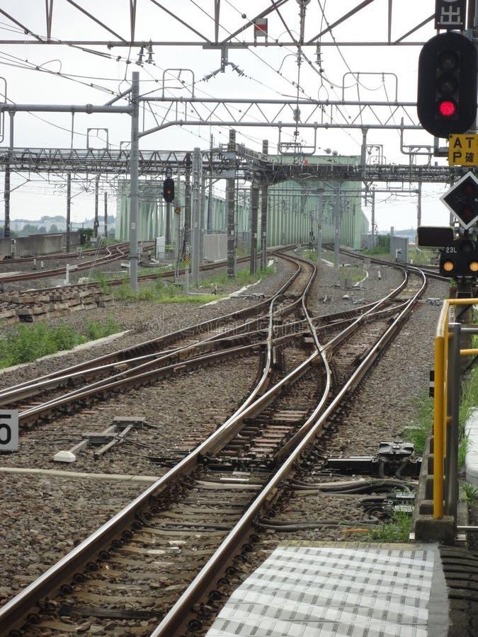 railways стоковая фотография rf