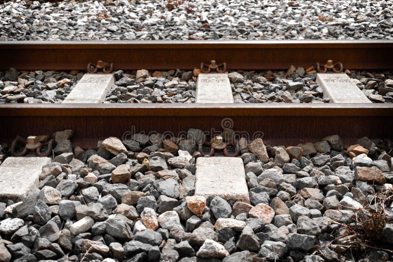 Railways in Spain royalty free stock photos