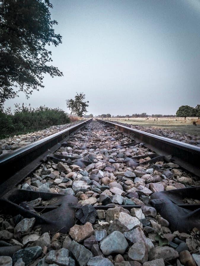 Railwaytrack στοκ φωτογραφίες με δικαίωμα ελεύθερης χρήσης