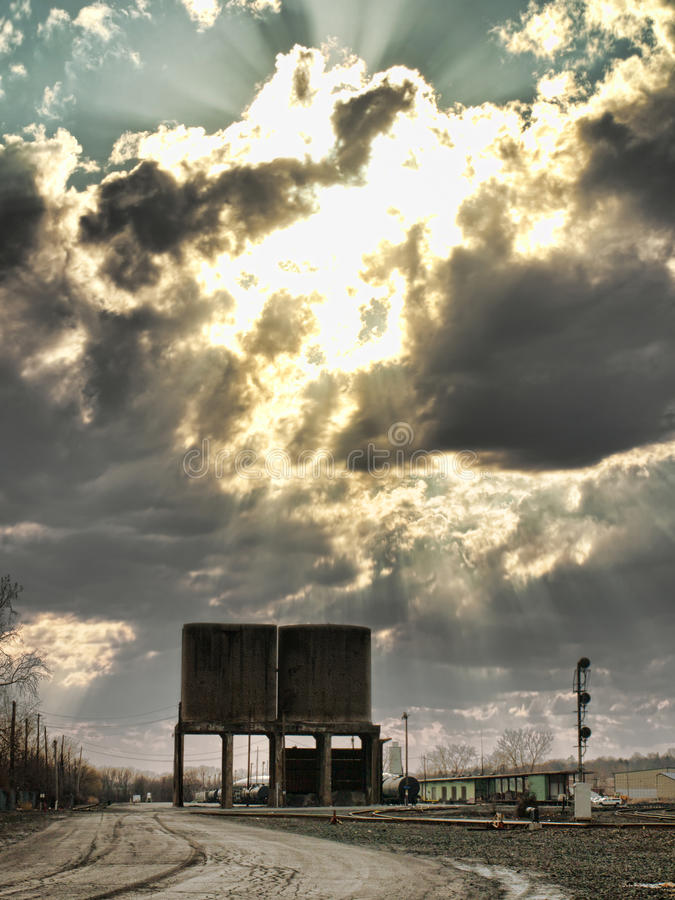 Railyard stockfotografie