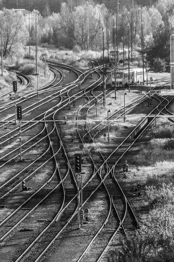 Railyard, lizenzfreie stockfotografie