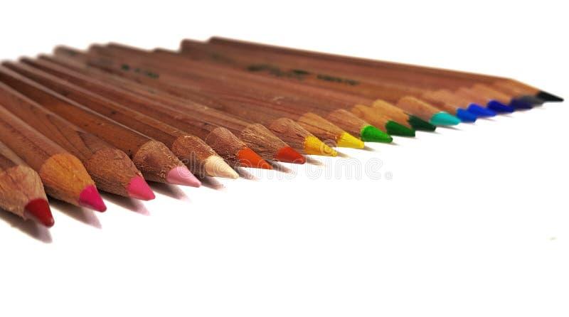 Raimbow de pastels photos stock