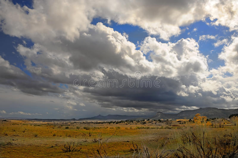 After the Rain. Beautiful image of a passing Storm in new mexico royalty free stock image