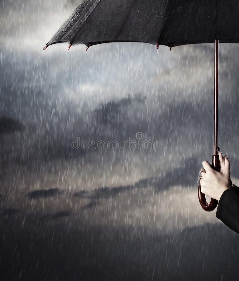 Download Rain stock image. Image of cloudscape, lifestyle, drench - 28138429