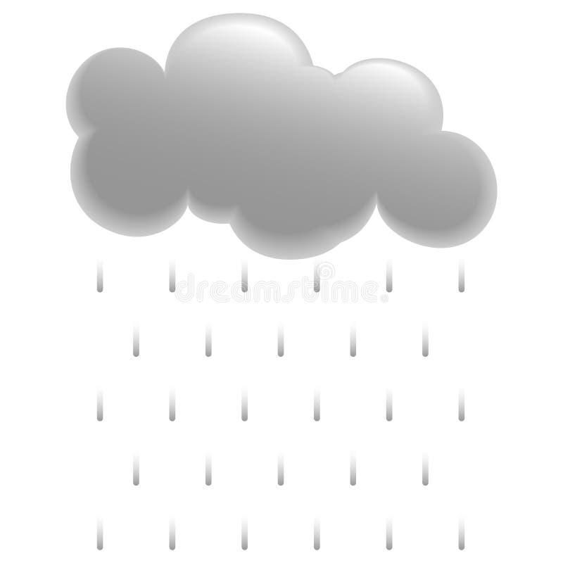 Download Rain stock vector. Image of season, meteorology, illustration - 6475990