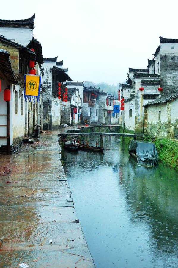 Download Rain ancient villages stock photo. Image of ancient, construction - 4667302