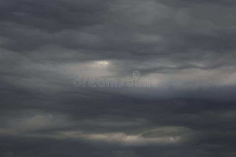 Rain clouds. royalty free stock photo
