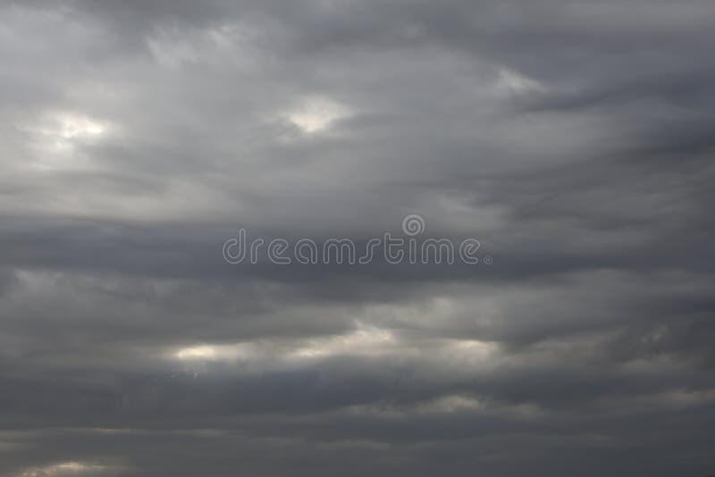 Rain clouds. stock photos