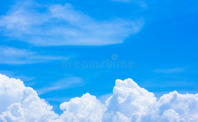Rain clouds are forming good weather.The sky is empty. Rain clouds are forming good weather. The sky is empty stock photos