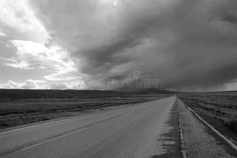 Rain clouds stock image