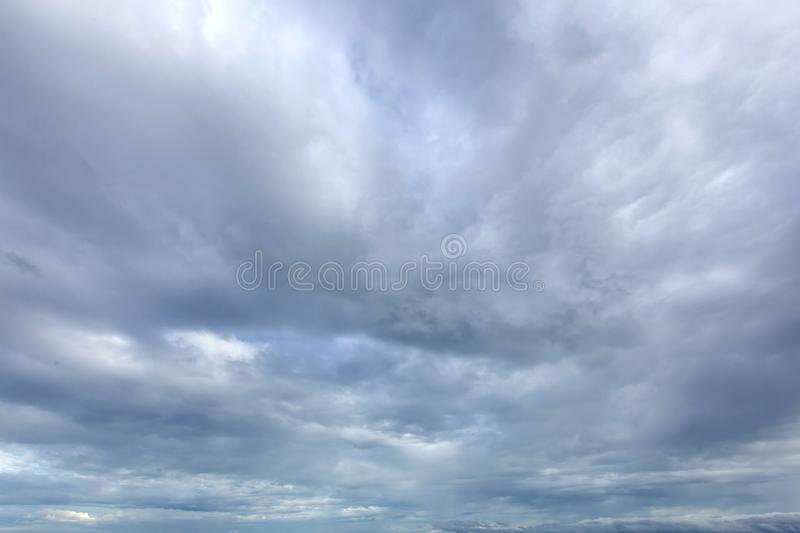Is Rain clouds stock image