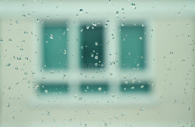 Download Rain drop on mirror stock image. Image of city, closeup - 24642003