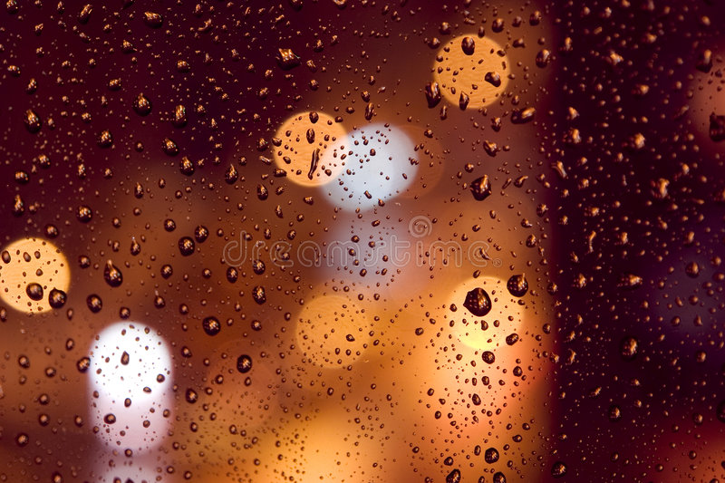 Download Rain drops stock image. Image of cold, street, coloured - 4813283