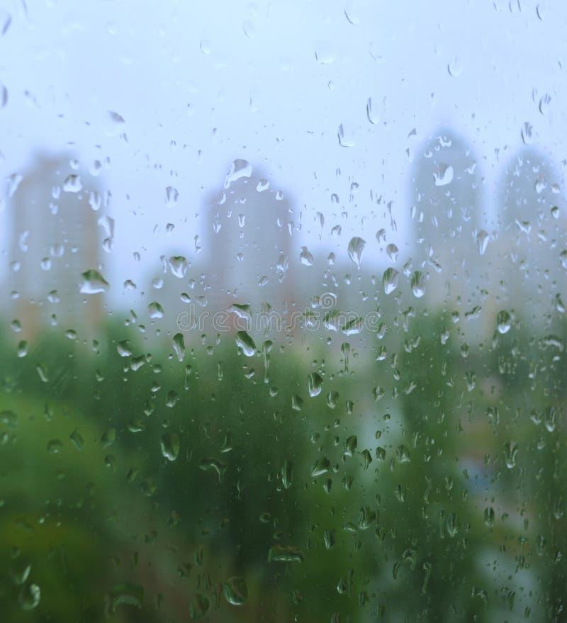 Free Rain Drops On A Window Royalty Free Stock Image - 11798146