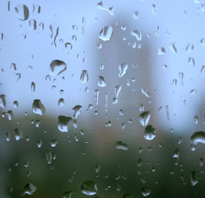Download Rain drops on a window stock photo. Image of effect, reflection - 11798138