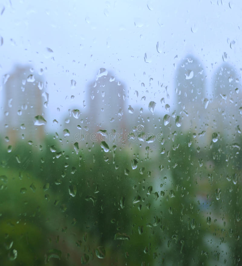 Download Rain Drops On A Window Royalty Free Stock Image - Image: 11798146