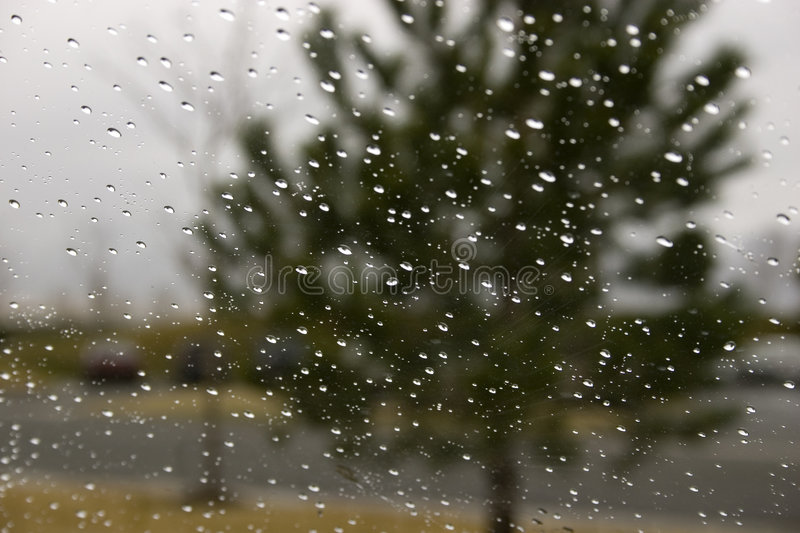 Download Rain Drops On The Windshield Stock Photo - Image: 654708
