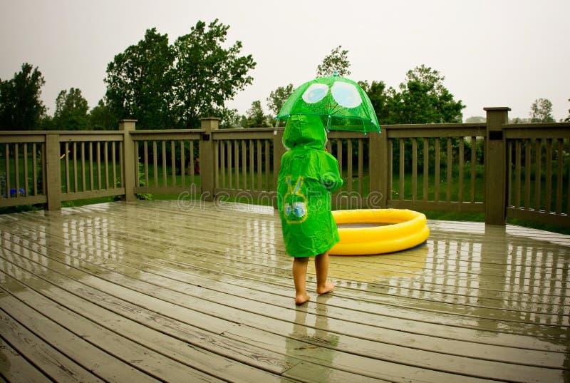 Rain gears stock photography