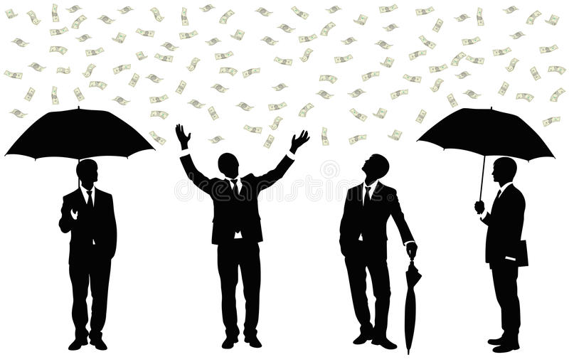 Download Rain Of Money. Royalty Free Stock Photography - Image: 14956757