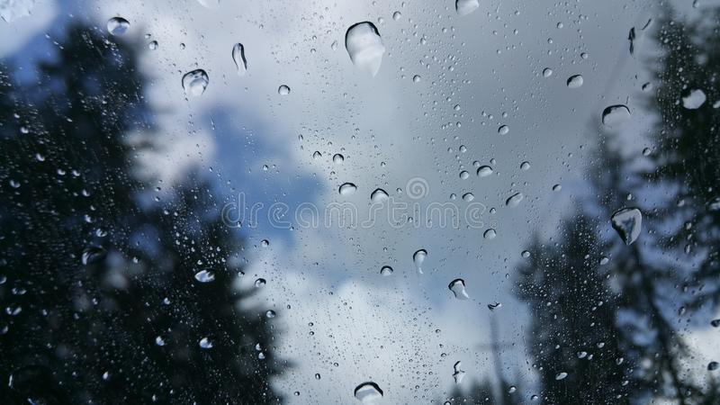 Rain On The Move royalty free stock images