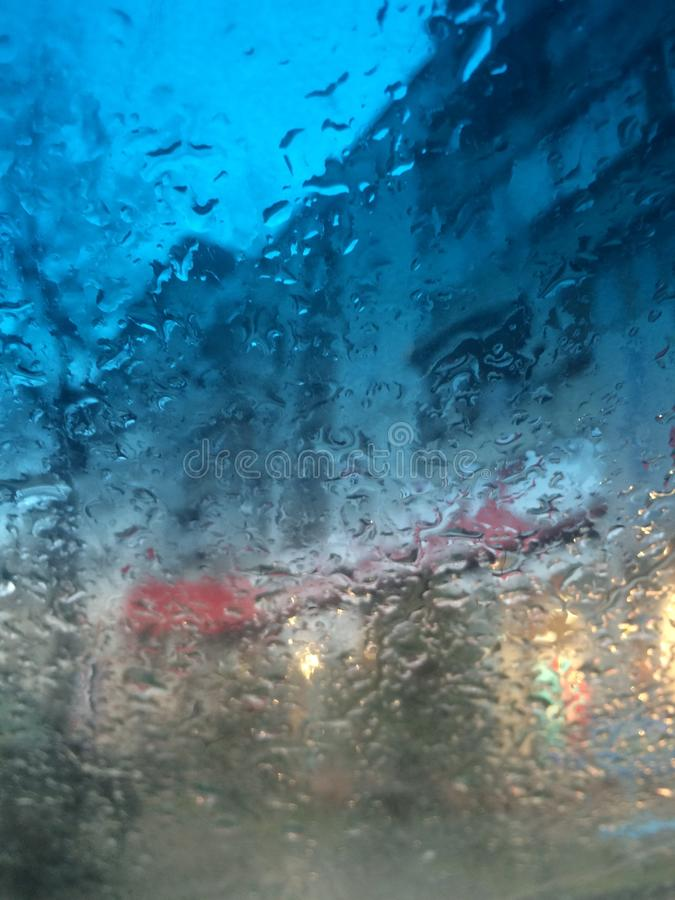 Rain stock photography