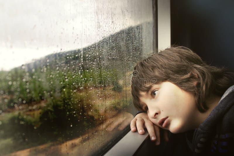 Rain Raining Window Child Free Public Domain Cc0 Image