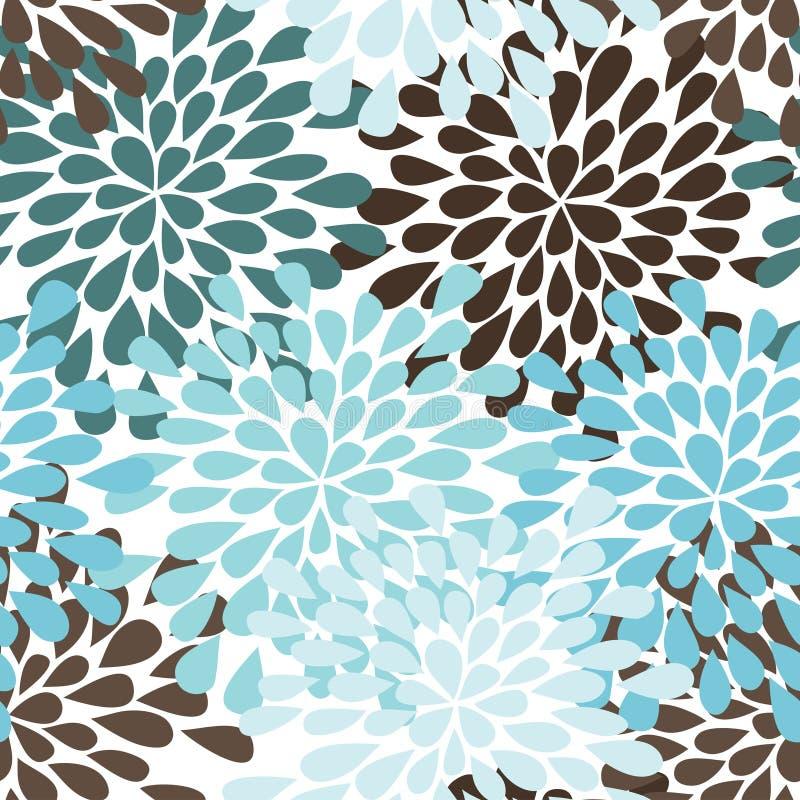 Rain seamless pattern stock illustration