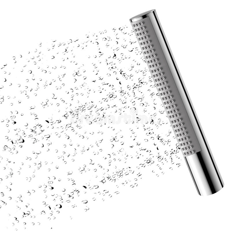 Rain shower royalty free stock image