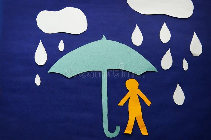 Download Rain storm stock image. Image of rain, cutout, insurance - 27587641