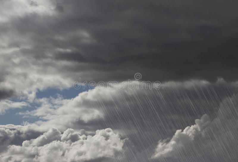 Rain Storm Clouds Royalty Free Stock Photo