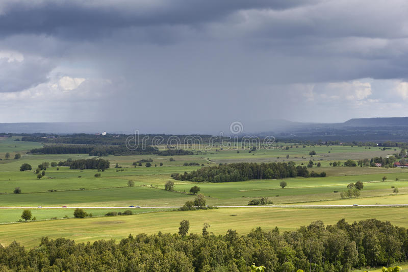 Download Rain Storm Over The Countryside Stock Image - Image: 24155269